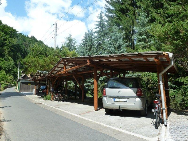 Carports der Pension Zaukeneck Bad Schandau Carports
