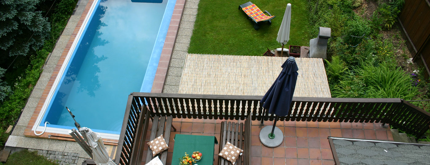 Pool, Garten, Terrasse, Grill <strong>& Bar</strong>